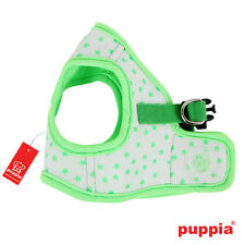 Dog Puppy Harness Soft Vest- Puppia - Cosmic - Green - Choose Size