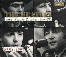 The Beatles-Rare Photos & Interview Cd-Vol.2 The Beatles Audio CD