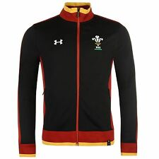 Under Armour Mens Wales Track Jacket Coat Top High Neck Full Zip Fastening