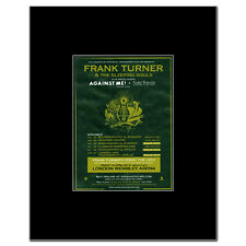 FRANK TURNER - UK Tour 2011 Mini Poster - 10x13.5cm