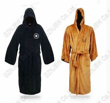 Adult Star Wars Jedi Sith Knight Bath Robe Cosplay Costume Hooded Bathrobe Cloak
