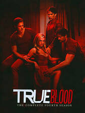 True Blood: The Complete Fourth Season (DVD, 2012, 5-Disc Set) Like New