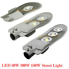 50W 100W 150W Cold White LED Street Road Outdoor Light Yard Industrial AC85-265V