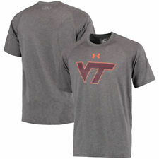 Virginia Tech Hokies Under Armour Logo Tech Performance T-Shirt - NCAA