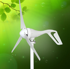 400W 3 Blades Wind Turbine Generator With Waterproof Charge Controller DC12-24V