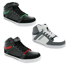Mercury Hi-Top Baseball Boots Mens Fashion Casual Skate Style Trainers UK7-13