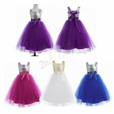Flower Girl baby Pageant Communion Formal Party WeddingBridesmaid Princess Dress