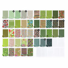 Decopatch Decoupage Printed Paper Green Patterns