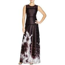 Elie Tahari 7619 Womens Leona Printed Sleeveless Full-Length Maxi Dress BHFO