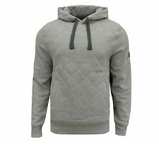 Henleys Men's Carnegie Fleece Hoodie Grey Marl