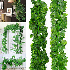 6.56ft Artificial Ivy Leaf Garland Plants Fake Foliage Flowers Home Decoration