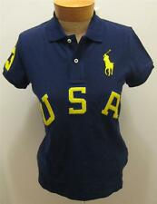 NEW RALPH LAUREN Big Pony USA Womens Polo Shirt Top S M L NWT