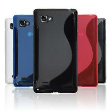 Silicone Case for LG Optimus 4X HD P880 S-Style  + protective foils