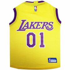NBA Los Angeles Lakers Pet Dog Jersey Tank (all sizes)