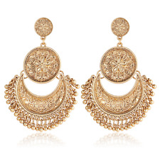 Women Fashion Vintage Boho Tassel Drop Dangle Earrings Ethnic Jewelry Party Gift
