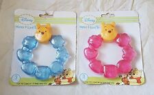 Disney Winnie The Pooh Water Filled Teether 3 Mths +  New