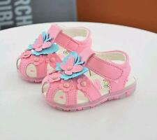 2017 Cute Toddler Girls butterfly Sandals Baby Kids Lights Shoes Soft Sole Size