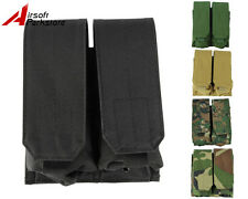 Tactical Military Molle Belt 5.56 .223 Double Magazine Mag Pouch Holster Bag