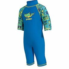Zoggs Deep Sea Sun Protection Swimming Pool One Piece Suit