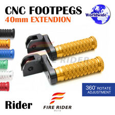 FRW CNC 6C 40mm Front Footpegs For Triumph Speed Four 02-05 02 03 04 05