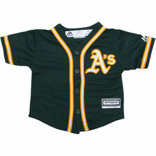 Oakland Athletics Majestic Toddler Official Cool Base Jersey Baseball