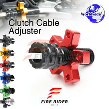 FRW 6Color CNC Clutch Cable Adjuster For Kawasaki Ninja 1000 SX ZX1000 11-13 12