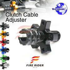 FRW 6Color CNC Clutch Cable Adjuster For Kawasaki Ninja ZX-12R 00-06 02 03 04 05