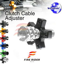 FRW 6Color CNC Clutch Cable Adjuster For Kawasaki Z800 13-16 13 14 15 16