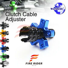 FRW 6Color CNC Clutch Cable Adjuster For Kawasaki Ninja 650R EX650 06-12 08 09