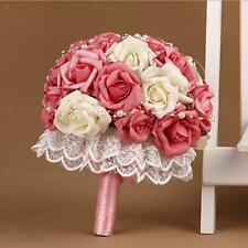 Luxury Wedding Flowers Bride Bridesmaids Bouquet with Pearls Wedding Party