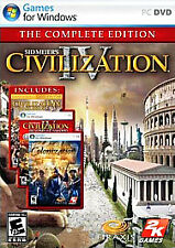 Sid Meiers Civilization IV: The Complete Edition - PC 2K Video Game