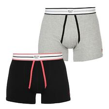 Penguin Mens A Front Boxers Elasticated Trunks Underwear Accessories