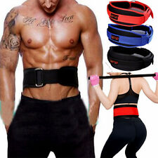 """5.5"""" Neoprene Weight Lifting Belt Gym Fitness Powerlifting Back Support Brace US"""