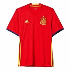 NWT Adidas AA0850 Spain Youth Scarlet/Yellow 2016/17 Home Jersey - Soccer