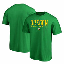 Oregon Ducks Fanatics Branded True Sport Softball T-Shirt - Kelly Green - NCAA