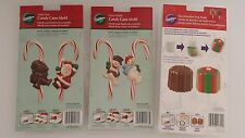 Wilton Candy Molds Santa Snowman or Marshmellow Gifts Choose From List