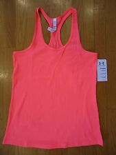 NWT UNDER ARMOUR BRILLIANCE RACERBACK VICTORY TANK TOP FITTED SHIRT WOMENS XL