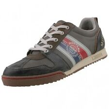 new MUSTANG Men's shoes 4071-301 Low Shoes Lace Up Trainers Shoes Grey