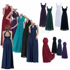 Women Long Wedding Evening Formal Cocktail Party Ball Gown Prom Bridesmaid Dress