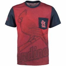 St. Louis Cardinals Forever Collectibles Men's Team Pocket  T-Shirt - Red