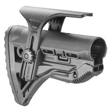 FAB Defense Buttstock w/ Shock Absorbing and Cheek Rest - GL-SHOCK CP