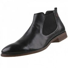 NEW bugatti Men's Shoes Chelsea Boots Ankle Boots Leather Slippers