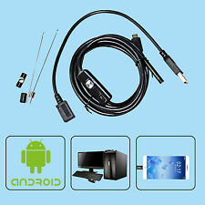 2/3.5/5M Android Endoscope 5.5mm 6 LED Waterproof Borescope Inspection Camera US