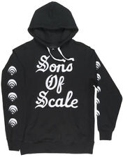 Black Scale Forever Scale French Terry Hoodie BLVCK SCVLE Pullover Sweatshirt