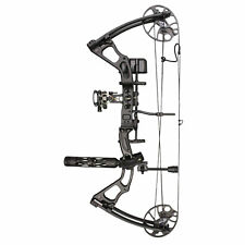 SAS Feud 19-70 Lbs Compound Bow Pro Package Fully Loaded Hunting Ready Combo