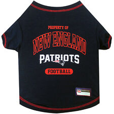 NFL New England Patriots Premium Dog Pet Tee Shirt (all sizes)