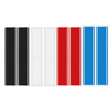 "Pair Universal 10"" Hood Racing Rally Stripes Auto Graphic Decal Vinyl Car Truck"
