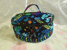 VERA BRADLEY Home and Away Cosmetic Case Bag College Travel Midnight Blues