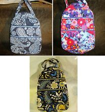 VERA BRADLEY Lunch Bag School Impressionista Blue Bandana Ellie Blue Katalina