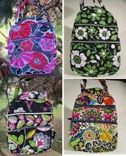 VERA BRADLEY Lunch Bunch Bag School Office Lucky You Moon Blooms Rio Cheery